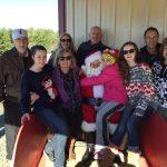 The Family with Santa