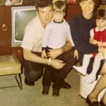 Vic, Betty, Karen & Brian - Happy Birthday, Brian