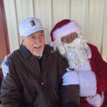 Victor and Santa