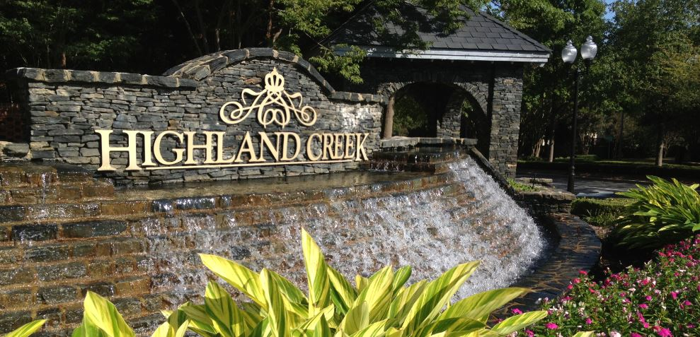 Highland Creek Front