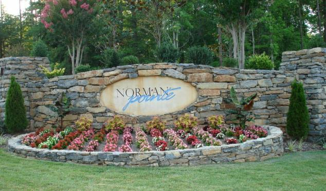 Norman Pointe Entrance