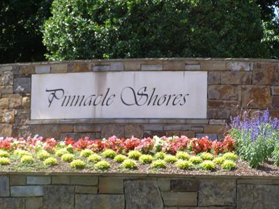 Pinnacle Shores Entrance