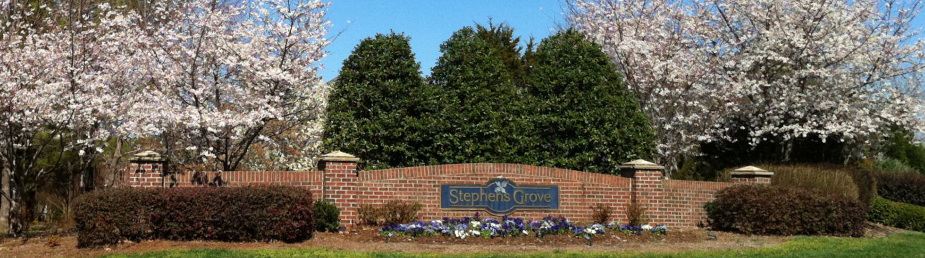 Stephens Grove Entrance