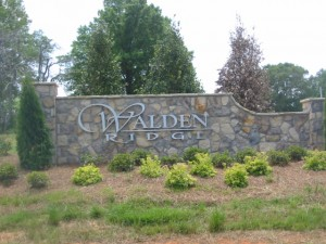 Walden Ridge Entrance