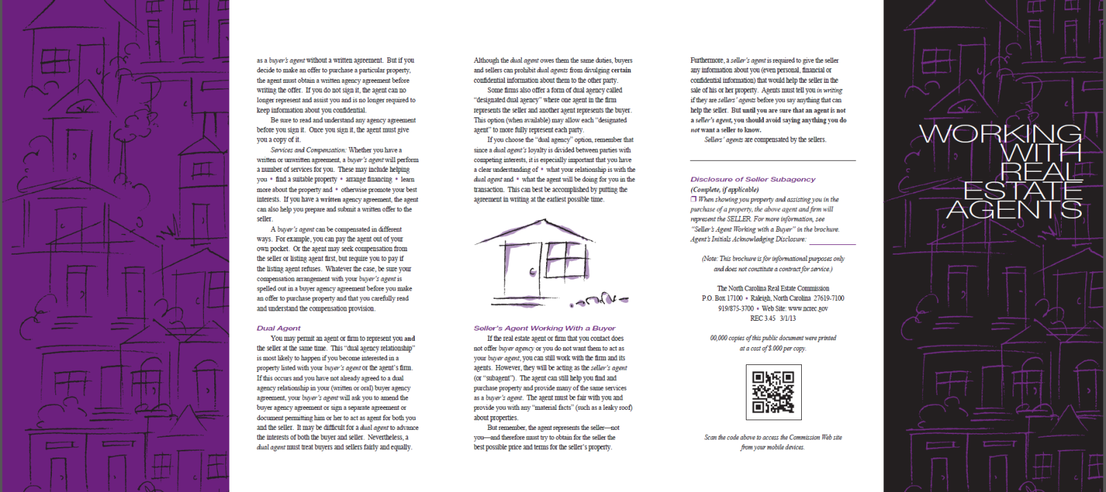 Working With Real Estate Agents Brochure