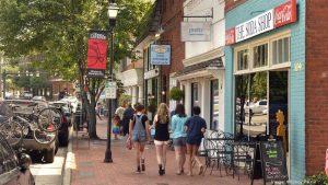 Davidson Town Main Street